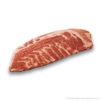 Frozen Bone-In Pork Spare Rib,  Vacuum Packaged, Whole Piece