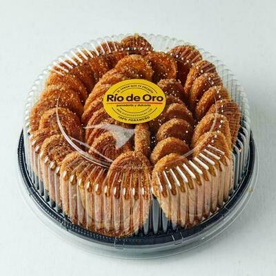 Panadería Río de Oro. Orejitas Puff Pastry Cookies 18CT