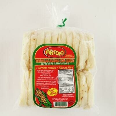 El Antojo Arepas/cheese 20 ct/60 g / 2.1 oz
