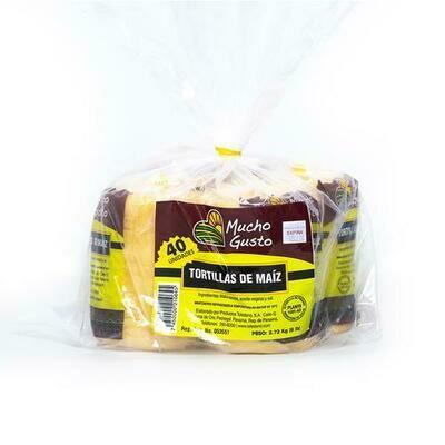 Mucho Gusto Corn Tortilla 4 pk/ 3 kg/ 6.6 lb