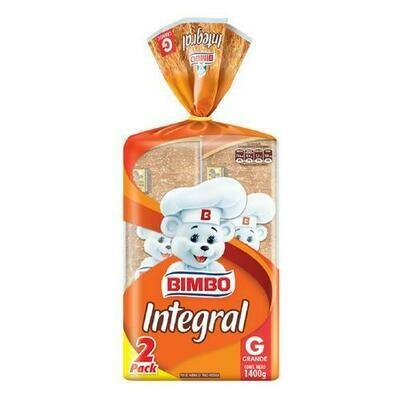 Bimbo Wholemeal Bread 2 units/700 g