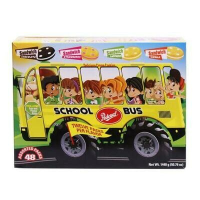 Pascual Cookies School Bus 48 units/45.36g