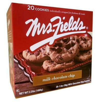 Mrs. Field's Chocolate Chip Cookie 20 ct- 2.1 oz/ 59g