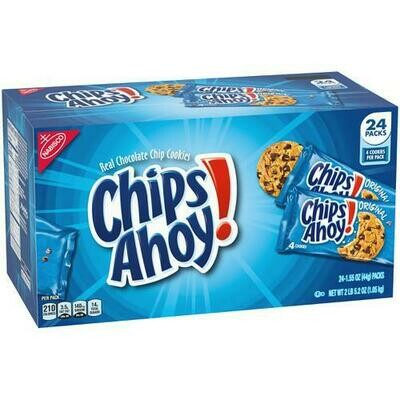 Nabisco Chips Ahoy 24 pk- 1.55 oz