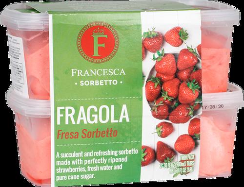 Francesca Strawberry Sorbet 2 ct/887 ml /30 oz