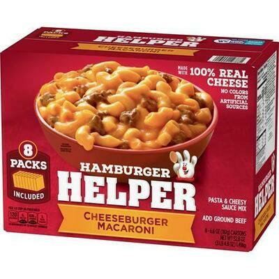 Hamburger Helper 8 pk/6.6 oz
