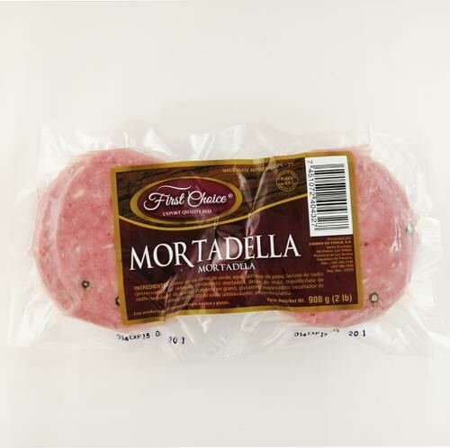First Choice Mortadella 907 g / 2 lb