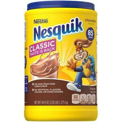 Nesquick Chocolate Mix 44.9 oz