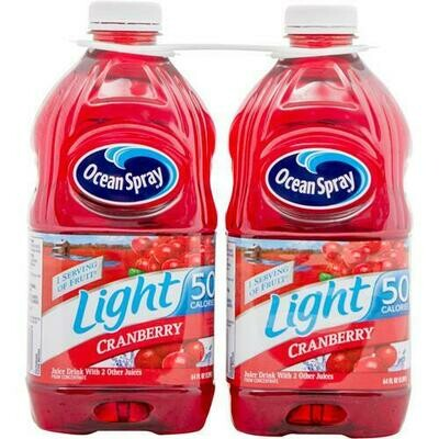 Ocean Spray Light Cranberry Juice 2 pk/64 oz