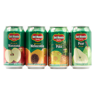 Del Monte Assorted Nectar 24 units/330ml