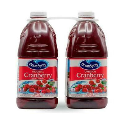 Ocean Spray Cranberry Juice 2 pk- 96 oz/ 2.83 lt