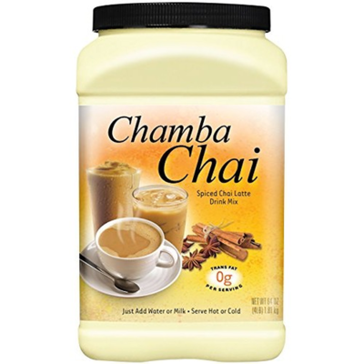 Chamba Chai Spiced Chai Latte 64 oz/ 1.81 kg