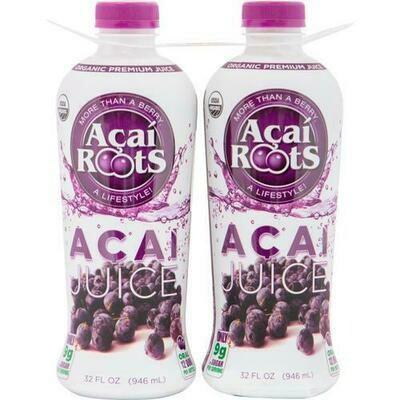 Acai Roots ORGANIC Acai Juice 2 pk- 32 oz/ 946 ml