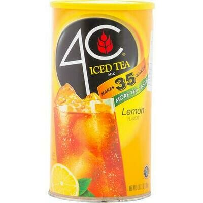 4C Lemon Iced Tea Mix 87.9 oz/ 2.49 kg