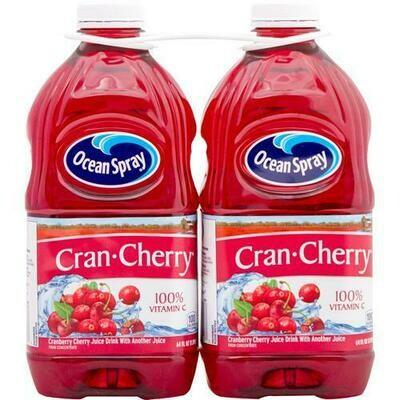 Ocean Spray Cranberry Cherry Juice 2 pk-64 oz/1.89 lt