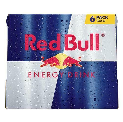 Red Bull Energy Drink 6 Units/250 ml