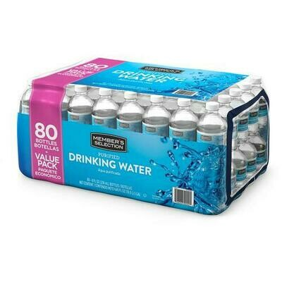 Member's Selection Purified Drinking Water 80 Units