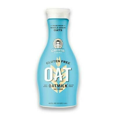 Califia Farms Unsweetened Oat Milk, 1.4 L / 48 oz