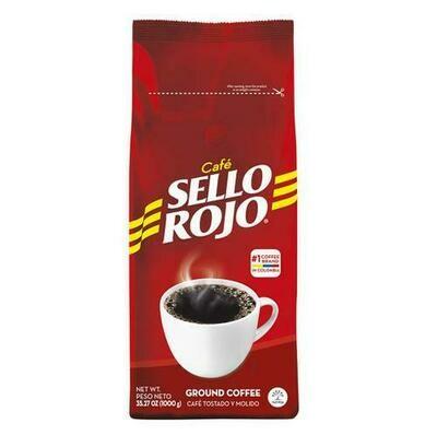 Sello Rojo Ground Coffee 1 kg