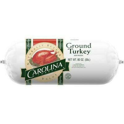 Carolina Ground Turkey Meat 2.3 kg / 5 lb