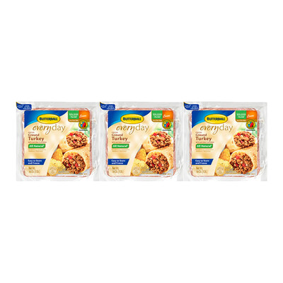 Butterball Ground Turkey, 3 Pack / 454 g / 1 lb