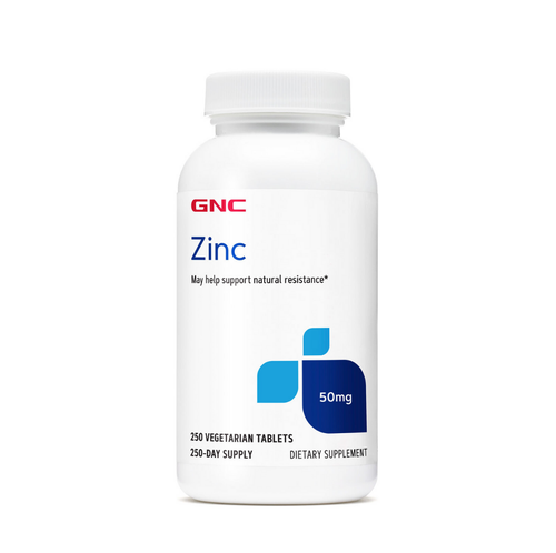 GNC Zinc 50 mg  250 Tablets