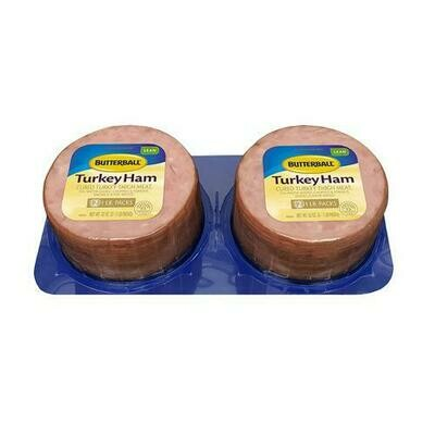 Butterball Turkey Ham 2 pk / 454 g / 16 oz