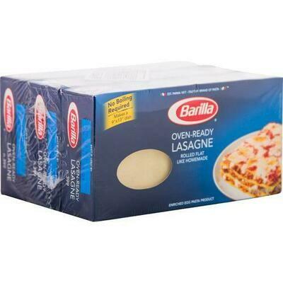 Barilla No Boil Lasagne 3 pk/9 oz