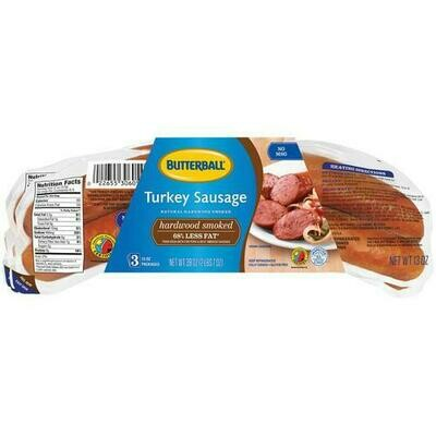 Butterball Turkey Sausage 3 pk/ 369 g/ 13 oz
