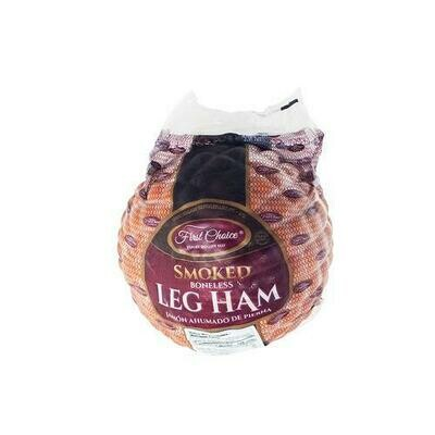 First Choice Frozen Smoked Ham, 2 kg / 4.4 lb