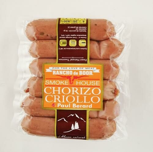 Rancho de Boor Local Flavor Sausage 800g / 1.7 lb
