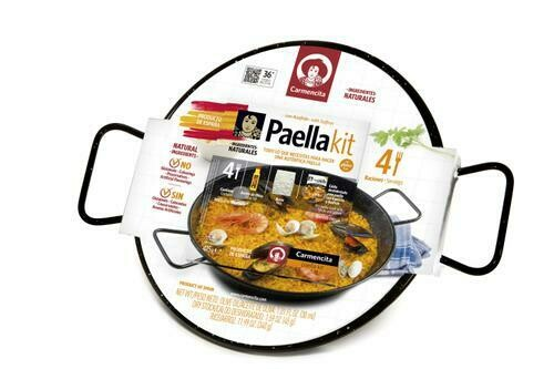 Carmencita Paella Kit with Pan