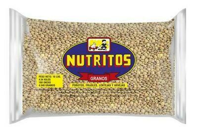 Nutritos Lentils 10lb