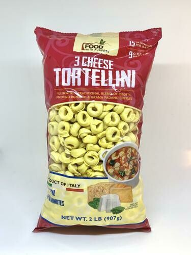 Food with Purpose 3 Cheese Tortellini 2 lb
