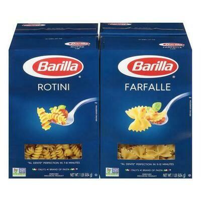 Barilla Farfalle And Rotini 4 pk/1 lb