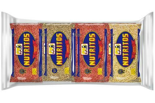Nutritos Assorted Grains 8 Pack/450 g