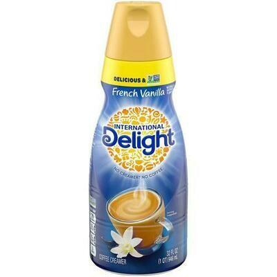 Int'l Delight French Vanilla Creamer 3 Pack  946 ml / 32 oz