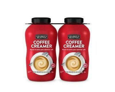 Member's Selection Coffee Creamer 2 pk/2.2 lb