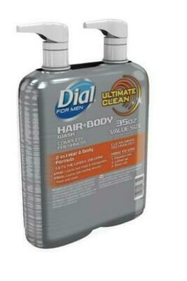 Dial for Men Hair + Body Wash 2 pk/35 oz