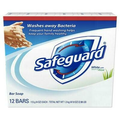 Safeguard Bar Soap 12 pk/4 oz