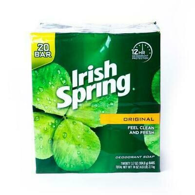 Irish Spring Original Soap 20 units / 3.75 oz