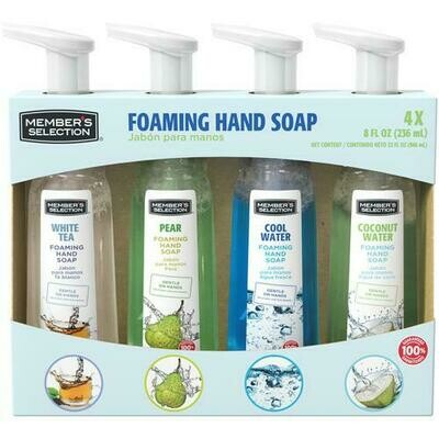 Member's Selection Foaming Hand Soap 4 pk/8 fl oz