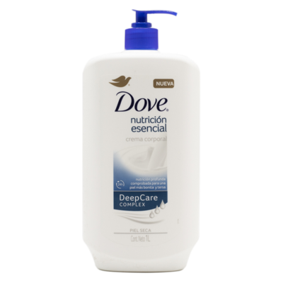 Dove Nutricion Esencial Body Lotion 1L