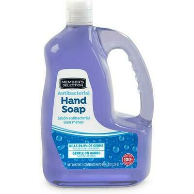 Member's Selection Antibacterial Hand Soap plus Refill 7.5 oz + 80 oz
