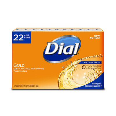 Dial Antibacterial Bar Soap 22 pk