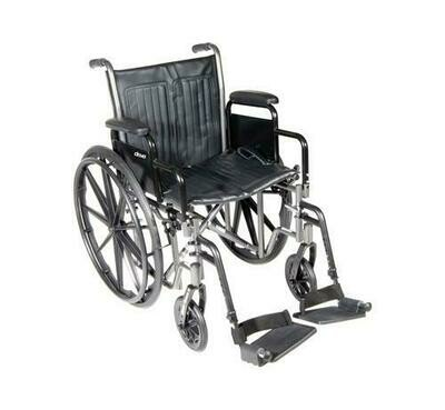 Wheelchair Manual Silver Sport II