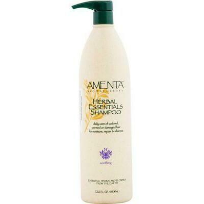 Amenta Herbal Essentials Shampoo 33.8 oz/ 1000 ml