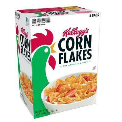 Kellogg's Corn Flakes 43 oz/ 1.21 kg