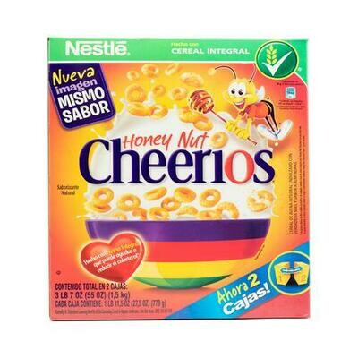 Nestle Honey Nut Cheerios 2 pk- 27.5 oz/ 779
