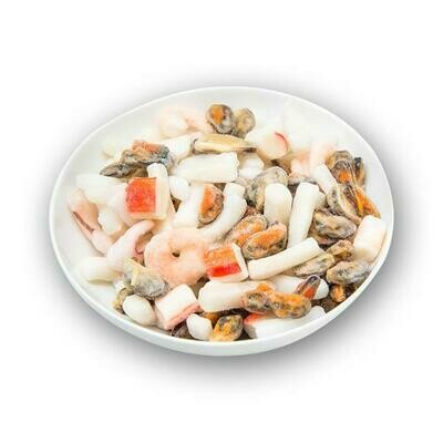 Sea Gallery Frozen Seafood Mix, Tray Pack  1 Kg. / 2.2 Lb.